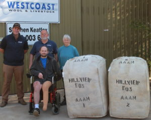 Brookton family's wool donation after horror train accident
