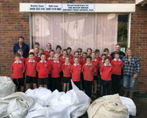 Wool oddments, dags to help send students to Canberra
