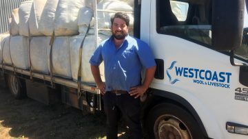 Adrian 'at home' with Westcoast in WA